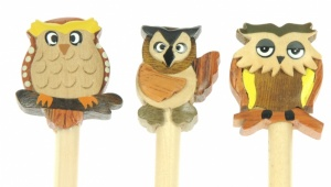 Pencils - Owl  (Pack Size 30)