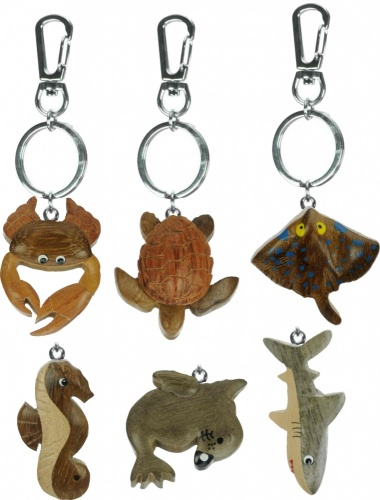 5001M-SL : Sealife Keyrings - Medium - (Pack Size 72) Price Breaks Available
