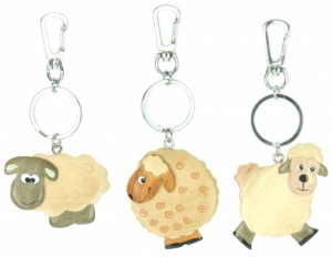 Keyrings - Sheep (Pack Size 50)
