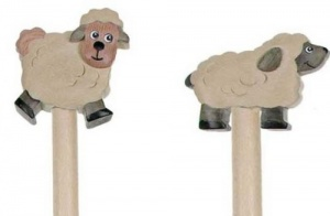 Pencils - Sheep  (Pack Size 30)