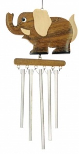 Wind Chimes (Medium) - Elephant  (Pack Size 10)