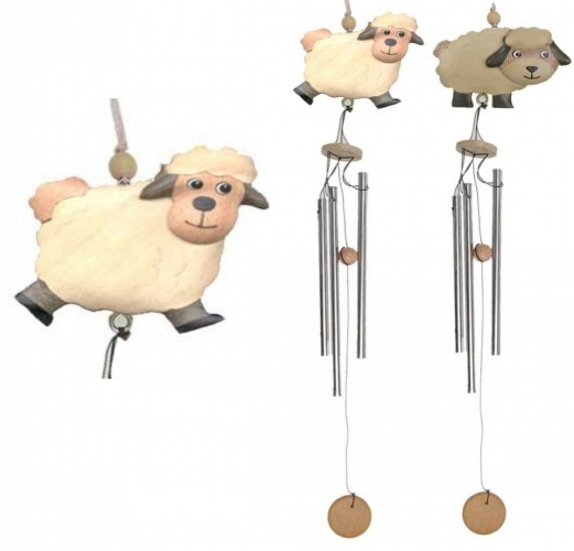 5037S : Sheep Wind Chimes (Small) - Mixed (Pack Size 36)
