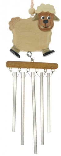 Wind Chimes (Medium) - Sheep  (Pack Size 20)
