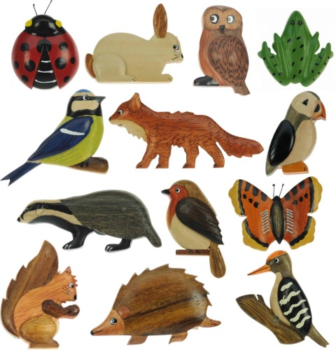 5043W : Wildlife Magnets (Pack Size 36) Price Breaks Available