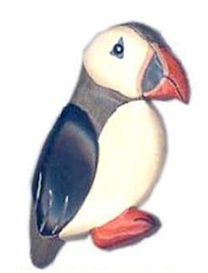 Magnets - Puffin  (Pack Size 50)