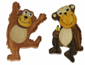 Magnets - Monkey  (Pack Size 30)