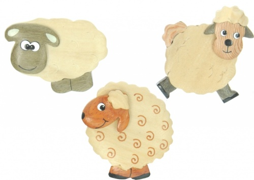 5043S-SH: Sheep Magnets (Pack Size 36) Price Breaks Available