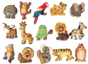 Magnets - Safari  (Pack Size 30)
