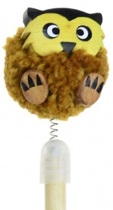Pencil - Pom Pom - Owl  (Pack Size 30)