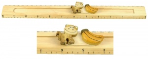 Ruler (Sliding Character Measure) - Monkey  (Pack Size 25)