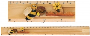 5206BE: Bee Ruler (Sliding Character Measure) (Pack Size 10) Price Breaks Available