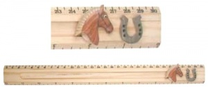Ruler (Sliding Character Measure) - Horse  (Pack Size 15)
