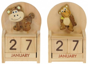 Calendars - Monkey  (Pack Size 10)