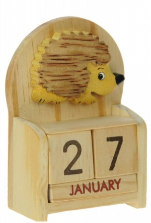 Calendars - Hedgehog  (Pack Size 10)
