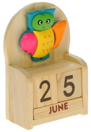 Calendars - Colourful - Owl  (Pack Size 10)