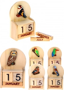 5209GB:  Garden Birds Calendars (Pack Size 24) Price Breaks Available