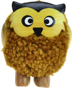 5501-OWL : Owl Pom Pom Figurine (Pack Size 24) Price Breaks Available