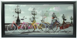 3-D Hologram Retro Pictures - Classic Bicycles (Pack Size 5) - (25% OFF)