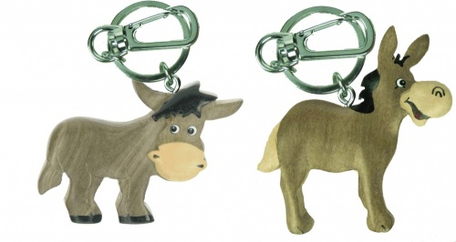 Keyrings -  Donkeys  (Pack Size 50)