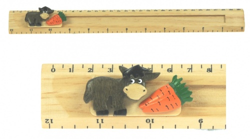Ruler (Sliding Character Measure) - Donkey  (Pack Size 30)
