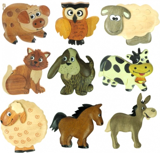 5043S : Animal Magnets Mix (Pack Size 36) Price Breaks Available