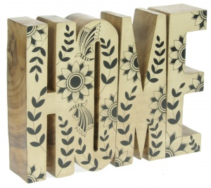 Hand carved Home Pattern (Pack Size 10) - (80% OFF)