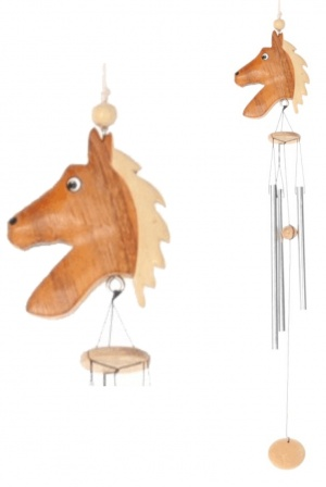 5037S : Horse Wind Chimes (Small) - Mixed (Pack Size 36)