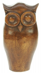 YP08 - Hand Carved Owl  (Pack Size 6)