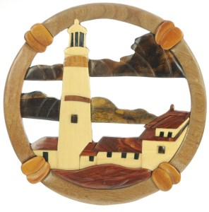 Wall Plaque - Lighthouse  (Pack Size 5) - (35% OFF)