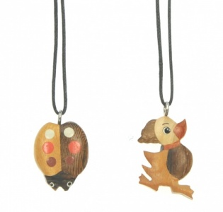 Neck Charms - Ladybird Duck  (Pack Size 100) - (50% OFF)