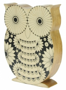 Hand Carved Owl  (Pack Size 10) - (50% OFF)