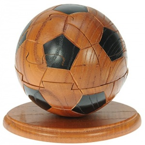 3-D Wooden Puzzle - Football   (Pack Size 3)