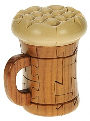 PU27: Beer 3-D Wooden Puzzle (Pack Size 5) Price Breaks Available
