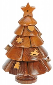 3-D Wooden Puzzle - Christmas Tree  (Pack Size 3)