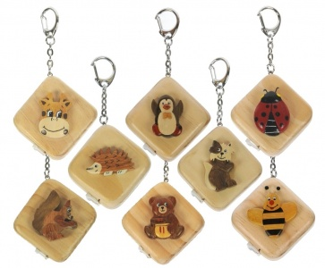 Keyrings - Tape Measure  (Pack Size 60) - (20% OFF)