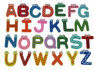 WT-LT : A-Z Alphabet Set  (Package Size 12)