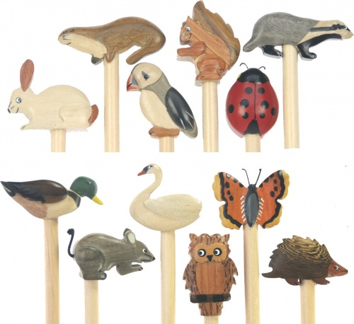5004W: Wildlife Pencils (Pack Size 36) Price Breaks Available
