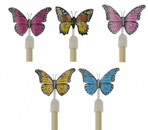 5004BY: Butterfly Pencils (Pack Size 36) Price Breaks Available