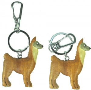 5001HS: Llama Keyrings (Pack Size 36) Price Breaks Available