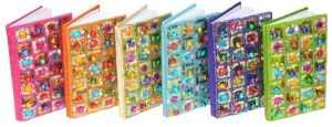 NS05 : Glittery Notebooks (with Sequins & Bells)  (Pack Size 24)