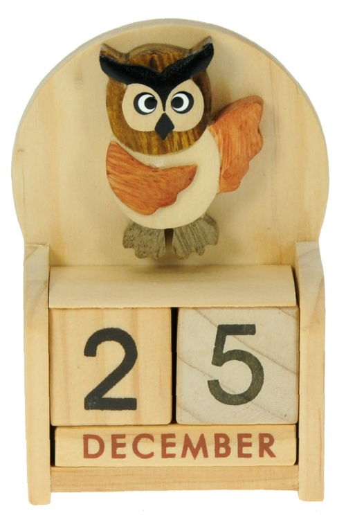 5209-OW: Owl Calendars (Pack Size 24) Price Breaks Available