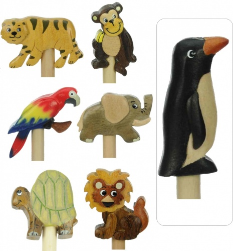5004Z: Safari / Zoo Pencils - (Pack Size 36) Price Breaks Available