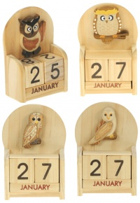 Calendars - Owl  (Pack Size 12)