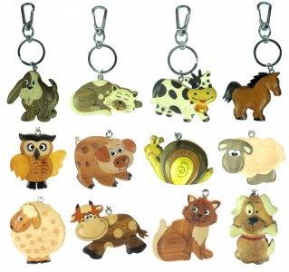 Keyrings - Mix Set - 20+ Designs (Pack Size 60)