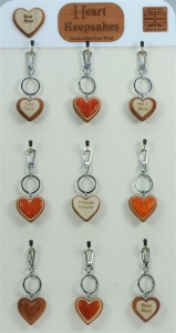 5001-HRT : Heart Keepsakes - Large - (Pack Size 36) Price Breaks Available