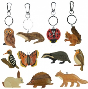 Keyrings - Wildlife  (Pack Size 60)