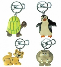 Keyrings - Safari - 10+ Designs (Pack Size 60)