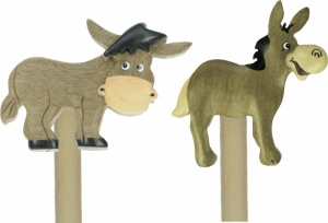 5004-DKY : Pencils - Donkey   (Pack Size 48)