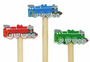 5004-TR : Steam Train Pencils (Pack Size 36) Price Breaks Available