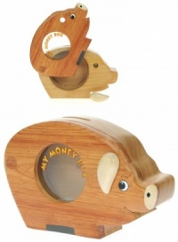 Money Box - Pig (Hidden Lock)  (Pack Size 6)